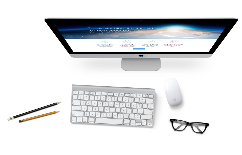 DLMarketing Computer screen